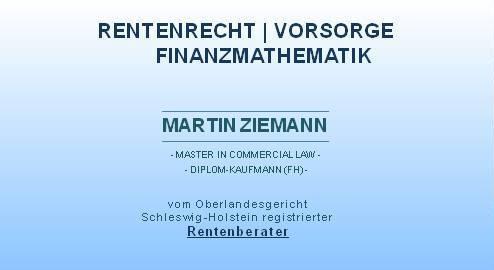 Firmenlogo Martin Ziemann